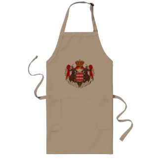 エプロンモナコの紋章付き外衣 ロングエプロン