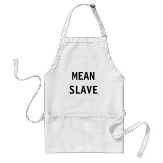 エプロン中間の奴隷 スタンダードエプロン