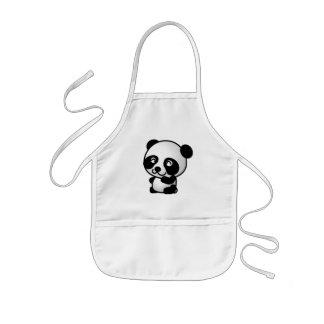 エプロン。 写真のパンダ 子供用エプロン