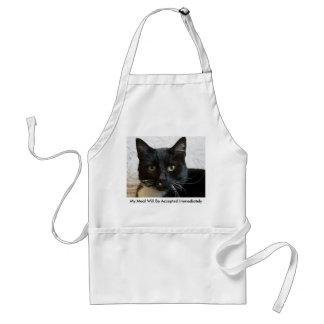 エプロン: Lilly猫 スタンダードエプロン