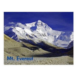 エベレストのベースキャンプのチベット人の側面 ポストカード