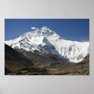 エベレストのベースキャンプのヒマラヤ山脈のネパールポスター ポスター