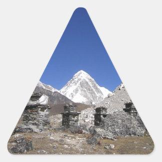 エベレスト9 三角形シール