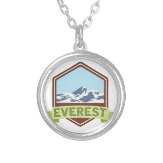 エベレスト シルバープレートネックレス