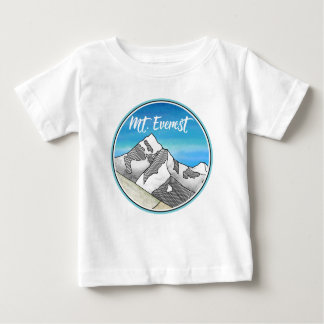 エベレスト ベビーTシャツ