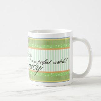 エマおよび氏Darcy Mug コーヒーマグカップ