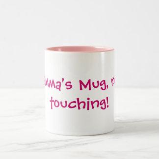 エマのマグ、接触無し! ツートーンマグカップ