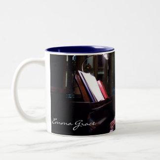 エマの優美のピアノマグ ツートーンマグカップ
