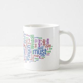 エマの単語の雲 コーヒーマグカップ