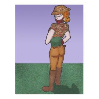 エマの日本製アニメの画廊のキャラクター ポストカード