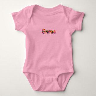 エマのTシャツ ベビーボディスーツ