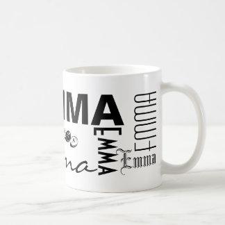 エマはマグを個人化します コーヒーマグカップ