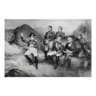 エマニュエルLasへのナポレオンIの命令の回顧録 ポスター