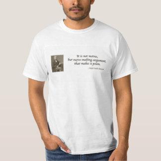 エマーソンの詩的なアドバイス Tシャツ