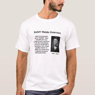 エマーソンはあなた自身を、主張します Tシャツ
