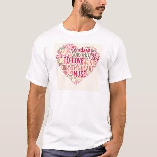 エマーソンは愛にすべてを与えます Tシャツ
