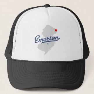 エマーソンニュージャージーNJのワイシャツ キャップ