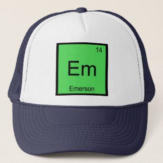 エマーソン一流化学要素の周期表 キャップ