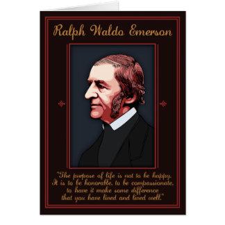 エマーソン-生命の目的 グリーティングカード