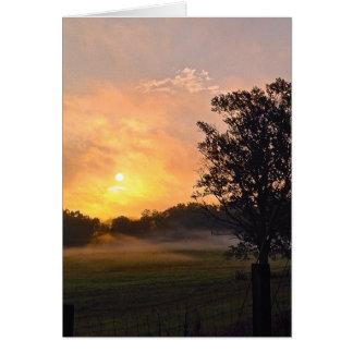 エマーソン、GAの日の出 カード