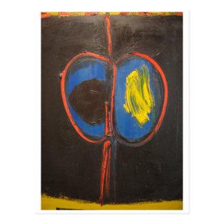 エマーソンWoelfferの抽象的な絵画の双生児1961年 ポストカード