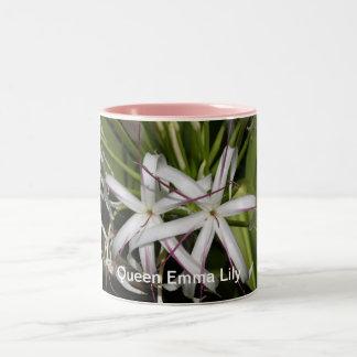 エマ女王ユリのマグ ツートーンマグカップ