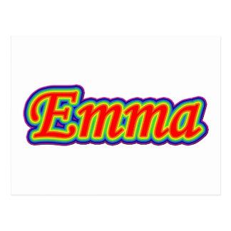 エマ-虹-白の… ポストカード