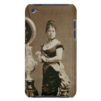 エマ(1836-85年)女王(セピア色の写真) Case-Mate iPod TOUCH ケース