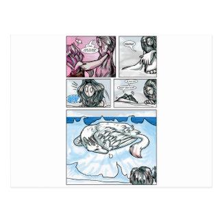 エマHaephrati著漫画 ポストカード