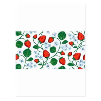 エマJanewayのいちごのコレクション ポストカード