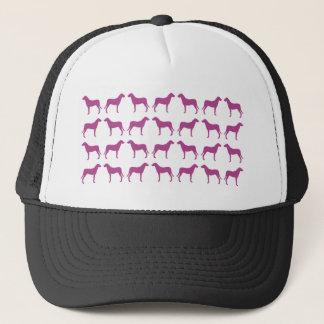エマJanewayの紫色の猟犬のコレクション キャップ