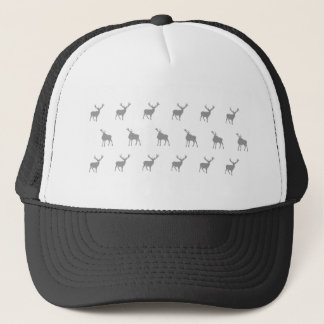 エマJanewayの銀製灰色の雄鹿 キャップ