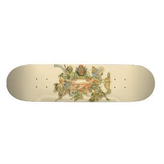 エマO Skateboard王 カスタムスケートボード