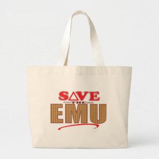 エミューの保存 ラージトートバッグ