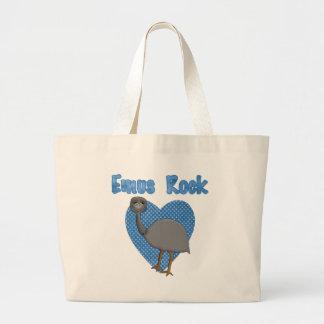 エミューの石 ラージトートバッグ