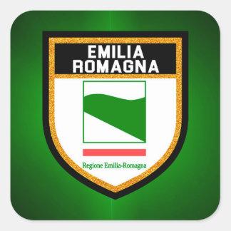 エミリアロマーニャの旗 スクエアシール