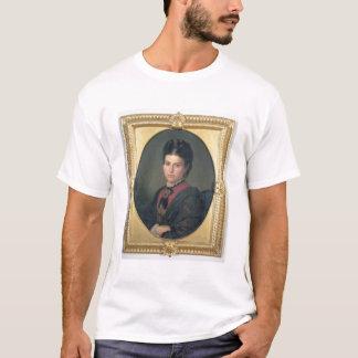 エミリアSampieri 1870年のポートレート(キャンバスの油) Tシャツ