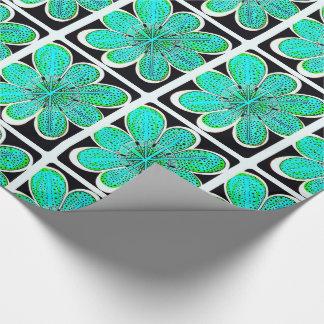 エミリーの(緑の)ギフトの包装紙 ラッピングペーパー