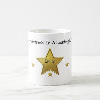 エミリーベストの女優 コーヒーマグカップ