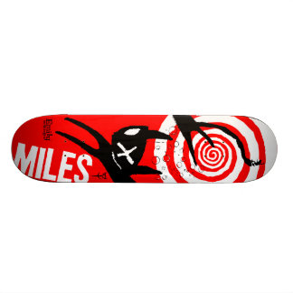 エミリー奇妙なマイル 20.6CM スケートボードデッキ