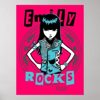 エミリー奇妙の: 通りのパンク ポスター