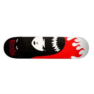 エミリー死への奇妙な板 カスタムスケートボード
