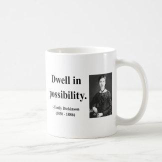 エミリー・ディキンソンの引用文2b コーヒーマグカップ