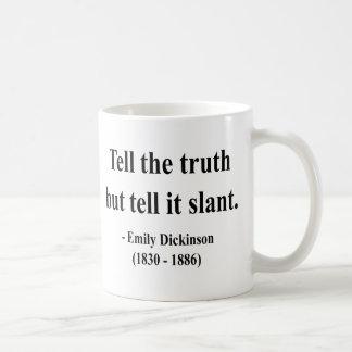 エミリー・ディキンソンの引用文9a コーヒーマグカップ