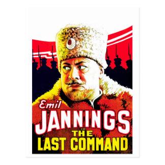 エミルJannings -最後の命令 ポストカード