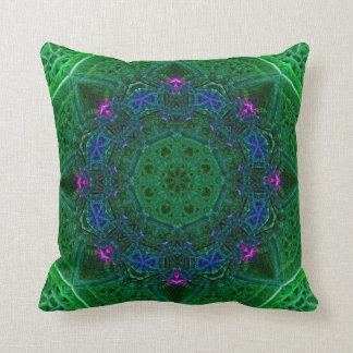 エメラルドの紫色のサファイアのドームの枕 クッション