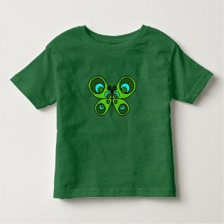 エメラルドの蝶 トドラーTシャツ