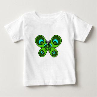 エメラルドの蝶 ベビーTシャツ