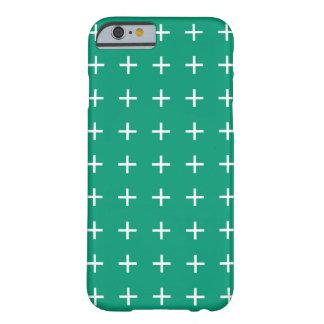 エメラルドグリーンのiPhone 6つのケース- Scandiの上品 Barely There iPhone 6 ケース