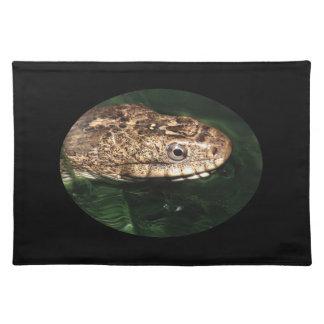 エメラルド水の水ヘビ ランチョンマット